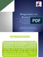 Diagnostico en Kinesiologia