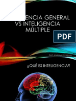 Clase 5 Inteligencia general Vs Inteligencia Múltiple