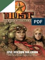 Dust Rulebook Epic Enig