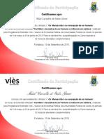 Certificados Dos Manuscritos