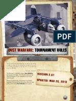 Dust_Warfare_Tournament Rules 2.0 Lowres