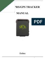 TK102B English User Manual
