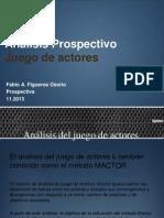Analisis Del Juego de Actores