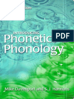 Phonetics and Phonology Complete