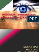 PTERIGION – ENUCLEACION – EVISCERACION - EXENTERACION EXPO