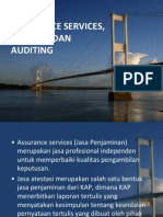 Assurance, Atestasi Dan Auditing
