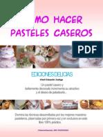 Libro ComoHacerPastelesCaseros EdicionesDelicias
