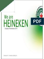 Introduction to HEINEKEN