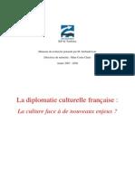 La Diplomatie Culturelle Francaise - IEP Toulouse