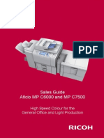 MP C6000 C7500 Ricoh Sales Handbook