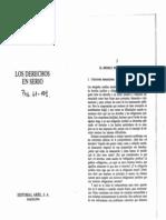 DWORKIN, Ronald. Los Derechos en Serio (61-101)