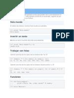 Mini Ejemple de Python