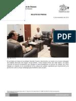 12/11/13 Germán Tenorio Vasconcelos reunión de trabajo