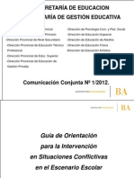 PRESENTACIÒN OFICIAL DE LA GUÌA.