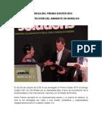 Informe de la entrega del Premio Doster 2013
