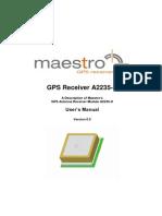 GPS Receiver A2235-H V0 9