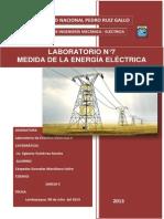 Laboratorio n7 Medida de La Energia Electrica