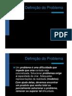 Definição do Problema de Design