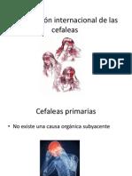 Clasificación internacional de las cefaleas