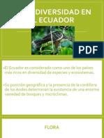 La Biodiversidad en El Ecuador
