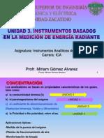 Unidad 3-Instrumentos Analiticos de medicion de Energía Radiante