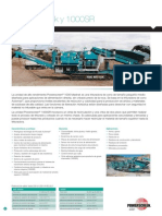 Powerscreen Crushing Brochure Spanish June 2011 1000 Maxtrak 10000sr