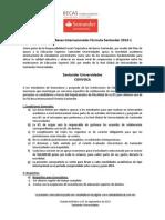 Convocatoria Becas Internacionales Formula Santander 2014 (1)
