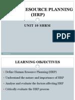 HUMAN RESOURCE PLANNING (HRP) and HRAUDIT.pdf