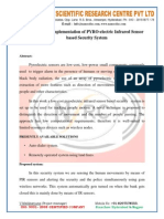 Design and Implementation of PYRO-electric Infrared Sensor based Security System.docx