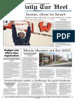 The Daily Tar Heel for November 13, 2013
