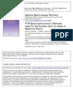FTIRSpectrophotometricMethodsUsedforAntioxidantActivityAssayinMedicinalPlants.pdf