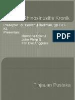 presentasi rhinosinusitis kronik.ppt