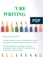 Feature Writing.pptx
