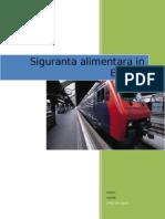 SIGURANTA ALIMENTARA IN EUROPA.doc