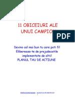 11 OBICEIURI ALE UNUI CAMPION.DOC