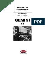 rotary scissor glp30 manual pdf