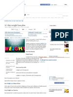 A 7 day weight loss plan.pdf