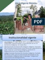 Territorio Indígena Maleku-Problematizaciones pendientes_CIEP_Mayo 2013_David Solís Aguilar