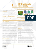 HPC Midlands and Applied Multilayers Case Study - Thin Film Growth for Photovoltaics