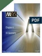 DM Chapter 4 3D Geometry