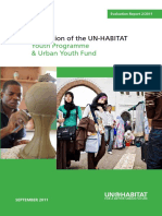 Evaluation of the UN-HABITAT Youth Programme & Urban Youth Fund