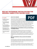 Rhev for Servers Competitive Pricing Guide