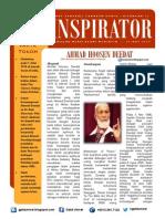 INSPIRATOR 12 Nov 2013- Ahmad Hoosen Deedat