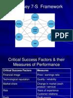 McKinsey 7-S  Framework