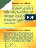 Históra do Amapá - Território Federal do Amapá