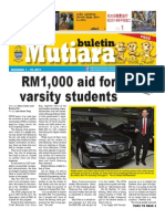Buletin Mutiara Nov 2013 - #1 issue - Tamil, Chinese, English