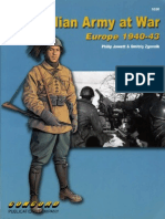 [Concord] [Warrior Series 6520] the Italian Army at War. Europe 1940-43