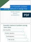 Application of Scientific method to IC design flow.pdf