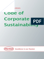 Code of Corporate Sustainability 2013