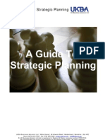 Guide to Strategic Planning